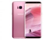 Lác mắt ngắm Galaxy S8 và Galaxy S8+ màu hồng Rose