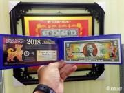 Đua nhau  săn  tiền lưu niệm hình linh vật Xuân Mậu Tuất 2018