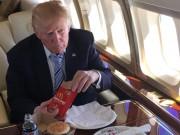"""Vì sao ông Trump  """" chê """"  cao lương mĩ vị, thích đồ ăn nhanh?"""