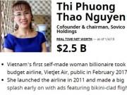 """Tài chính - Bất động sản - Tài sản """"nữ tướng"""" Phương Thảo vọt lên 2,5 tỷ USD khi HDBank chào sàn"""
