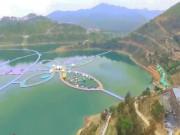 Choáng ngợp lối đi bộ trên sông dài nhất trên thế giới tại Trung Quốc