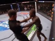 """MMA: Võ sỹ ăn đòn sinh  """" bẩn tính """" , đấm trọng tài sưng mặt"""