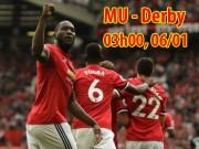 MU - Derby County: Lukaku và dàn SAO C1 dọa nạt  Bầy cừu