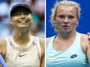 Thể thao - Sharapova - Siniakova: Tinh thần quả cảm, nghẹt thở set 3 (BK Thâm Quyến)