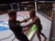 """MMA: Võ sỹ ăn đòn sinh """"bẩn tính"""", đấm trọng tài sưng mặt"""