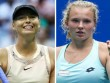 Sharapova - Siniakova: Tinh thần quả cảm, nghẹt thở set 3 (BK Thâm Quyến)