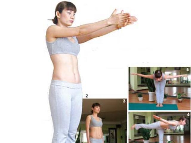 3 động tác yoga tránh mệt mỏi, tốt cho xương khớp