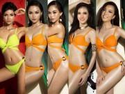 """Dự đoán  """" nóng hổi """" : Đây có thể là top 5 Hoa hậu Hoàn vũ Việt Nam 2017"""