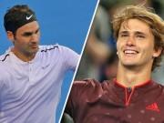 """Thể thao - Federer – Zverev: Nghẹt thở """"đấu súng"""", thăng hoa sau 3 set"""