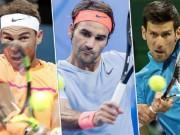 Australian Open: Nadal - Djokovic báo tin vui, Federer chớ vội mừng