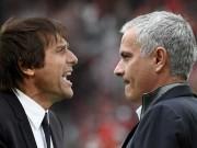 """Bóng đá - Mourinho chửi xéo Conte, Pep: Quẫn trí """"làm liều"""" hay có chủ đích?"""