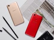 """Oppo chốt ngày  """" lên kệ """"  cho dòng smartphone F5 sắc đỏ"""