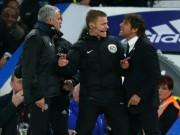 Bóng đá - Tin HOT bóng đá tối 7/1: Conte mắng Mourinho nhỏ mọn, hẹn thách đấu