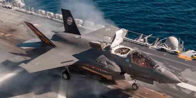 Tàu đổ bộ Mỹ đem tiêm kích tối tân nhất áp sát Triều Tiên - 2