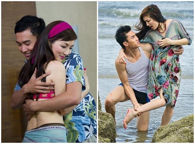 Những cảnh táo bạo của Hoa hậu Việt khiến người xem đỏ mặt - 3