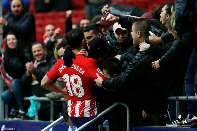 """Tiêu điểm vòng 18 La Liga: Ronaldo bất lực, đợi """"Quái thú"""" Costa cản Barca - 2"""