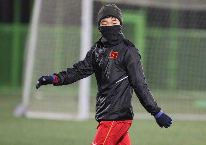 """U23 Việt Nam: Thầy trò HLV Park Hang Seo hóa """"chiến binh Ninja"""" - 12"""