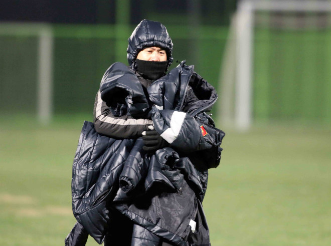 """U23 Việt Nam: Thầy trò HLV Park Hang Seo hóa """"chiến binh Ninja"""" - 7"""