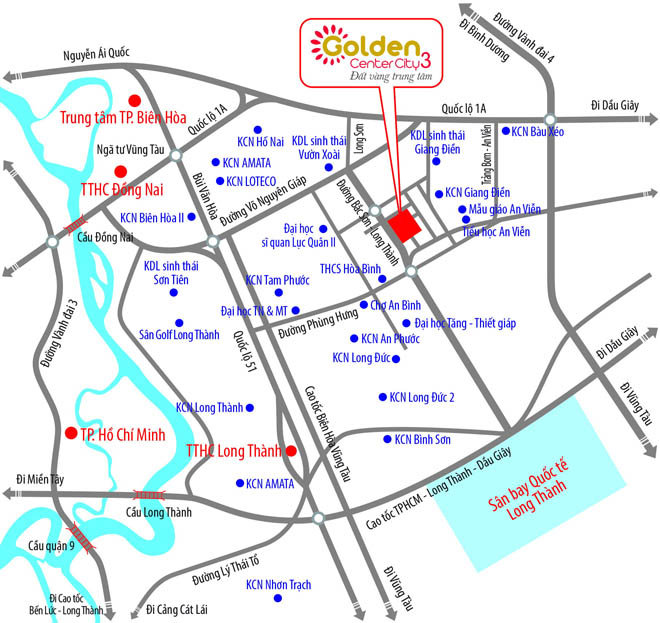 """Đón đầu """"thành phố sân bay"""" với Golden Center City 3 - 2"""