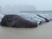 Xe Hyundai ở nhà máy Ninh Bình không bị ảnh hưởng ngập nước