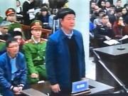 Tin tức trong ngày - Những hình ảnh đầu tiên của bị cáo Đinh La Thăng, Trịnh Xuân Thanh tại tòa