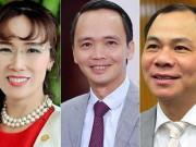 Tài chính - Bất động sản - Bất ngờ từ 5 người giàu nhất sàn chứng khoán Việt Nam