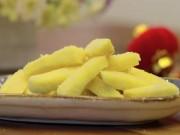 Ẩm thực - Cách làm mứt khoai lang giòn ngọt siêu dễ