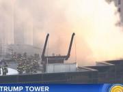 Nhà chọc trời của Trump bị cháy, khói đen bốc nghi ngút từ đỉnh
