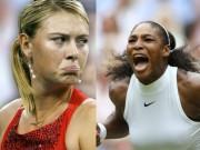 Không đội trời chung: Sharapova ghét Serena, hủy đóng phim bom tấn