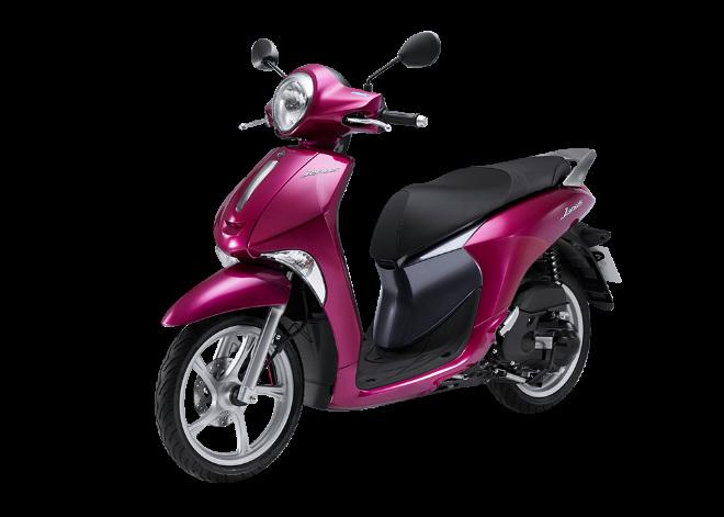 Yamaha Janus ra màu mới, đậm chất nữ tính - 1