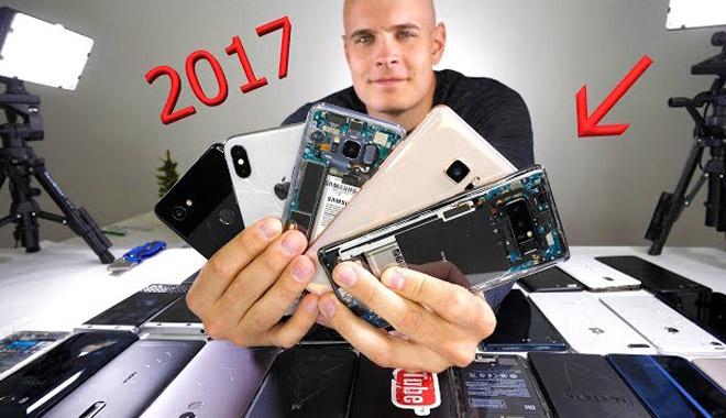 Đây là những smartphone bền và dễ sửa nhất trong năm 2017 - 1