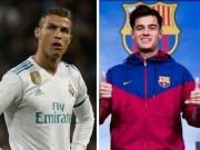 """Bóng đá - Top sao """"bạc tỷ"""": Ronaldo hết thời, Coutinho 160 triệu euro quá đắt"""