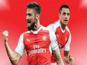 """Bóng đá - Arsenal tống cổ 5 SAO: Giroud - Sanchez làm """"quỹ"""" mua Lemar 90 triệu bảng"""
