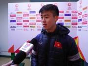Bóng đá - Đội phó U23 Việt Nam: Đấu Hàn Quốc, ngại gì thời tiết!