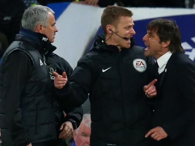 """Mourinho và Conte đấu khẩu """"tóe lửa"""": Sẵn sàng đánh nhau"""