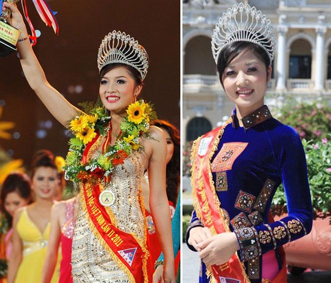 """3 mỹ nữ dân tộc đẹp lạ từng """"khuynh đảo"""" các cuộc thi hoa hậu Việt - 3"""