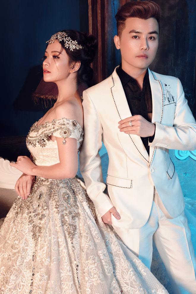 Gái hai con Đan Lê diện váy cưới như nữ hoàng - 6