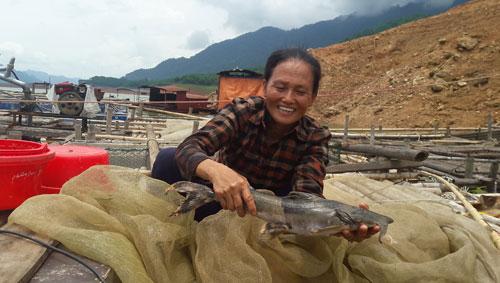 Cá lồng đặc sản sông Đà, xuân nào bán cũng chạy - 2