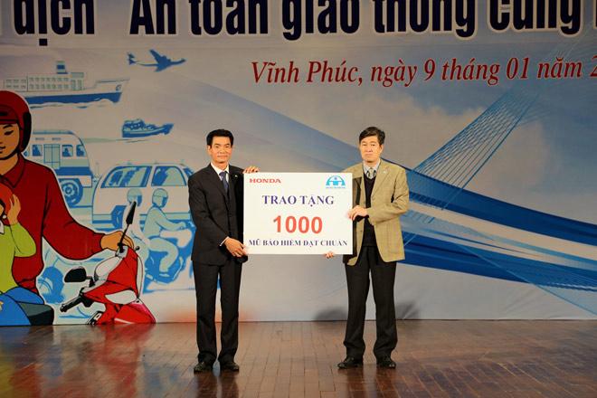 Chiến dịch An toàn giao thông cùng Honda Việt Nam - 2