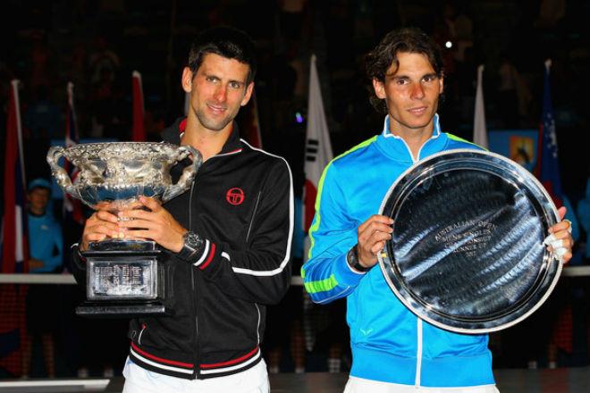 Australian Open, khoảnh khắc kinh động: Nadal ôm hận Federer - Djokovic - 2
