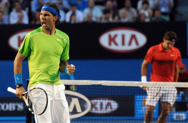 Australian Open, khoảnh khắc kinh động: Nadal ôm hận Federer - Djokovic - 6