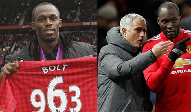 Usain Bolt mới đá bóng đã ra oai: Chê MU - Mourinho, khinh Lukaku - 1