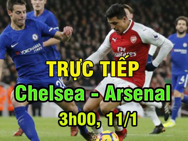 TRỰC TIẾP bóng đá Chelsea - Arsenal: Vidal từ chối Chelsea
