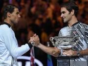 Thể thao - Australian Open, khoảnh khắc kinh động: Nadal ôm hận Federer - Djokovic