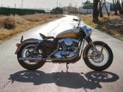 """Harley-Davidson Sportster  """" lột xác """"  theo phong cách Ironhead"""