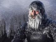 Lướt sóng ngoài trời âm 31 độ C, râu đóng thành băng