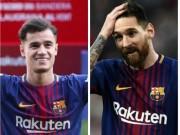 """Barca mua Coutinho tạo vây cánh Brazil,  """" đế chế """"  Messi nên dè chừng"""