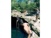 """Có gì bên trong hồ bơi được người Maya coi là  """" cổng địa ngục """" ?"""