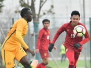"""Bóng đá - Tin nóng U23 châu Á 10/1: U23 Thái Lan """"chung mâm"""" Nhật Bản"""
