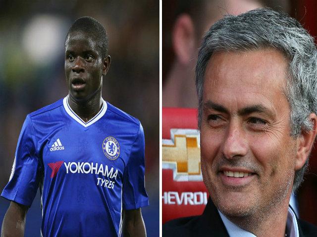 """Chuyển nhượng MU: Jose Mourinho đòi mua """"máy quét"""" Kante"""